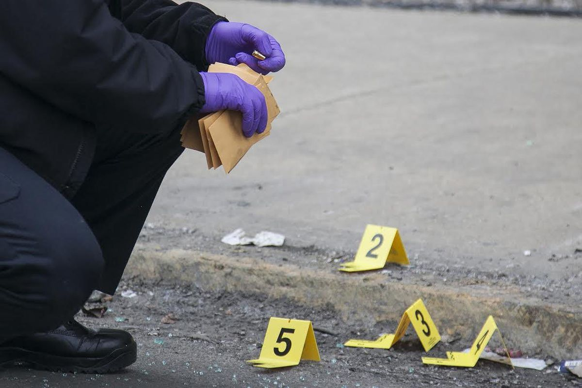 Two people were shot April 6, 2021, in South Shore.