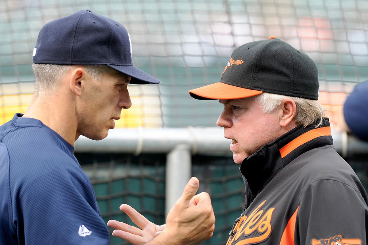 What do you say you and I hit up the town after the game, Joe? Shouldn't take any longer than three hours to get outta here!
