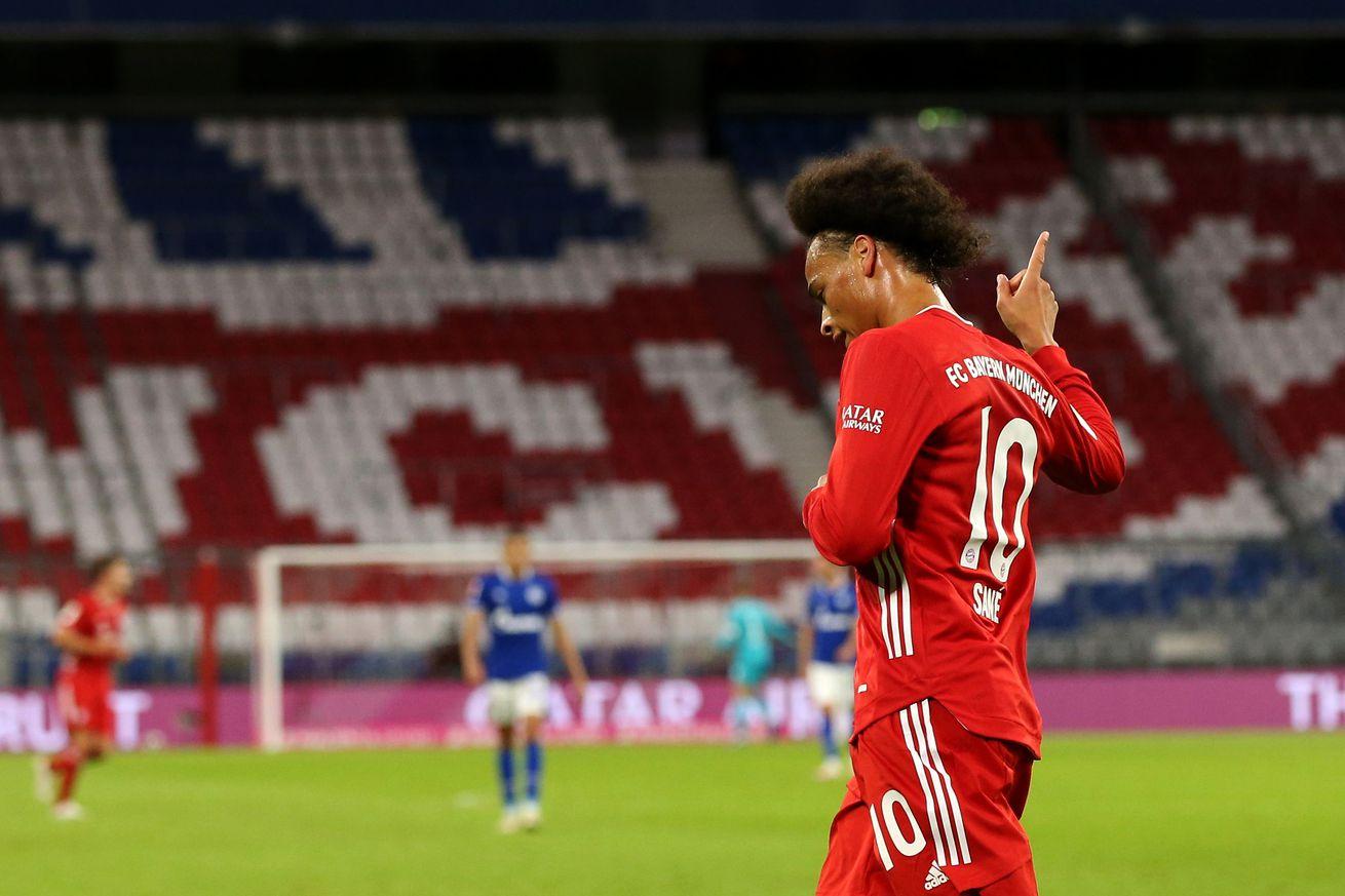 Assessing Leroy Sane?s debut performance for Bayern Munich against Schalke