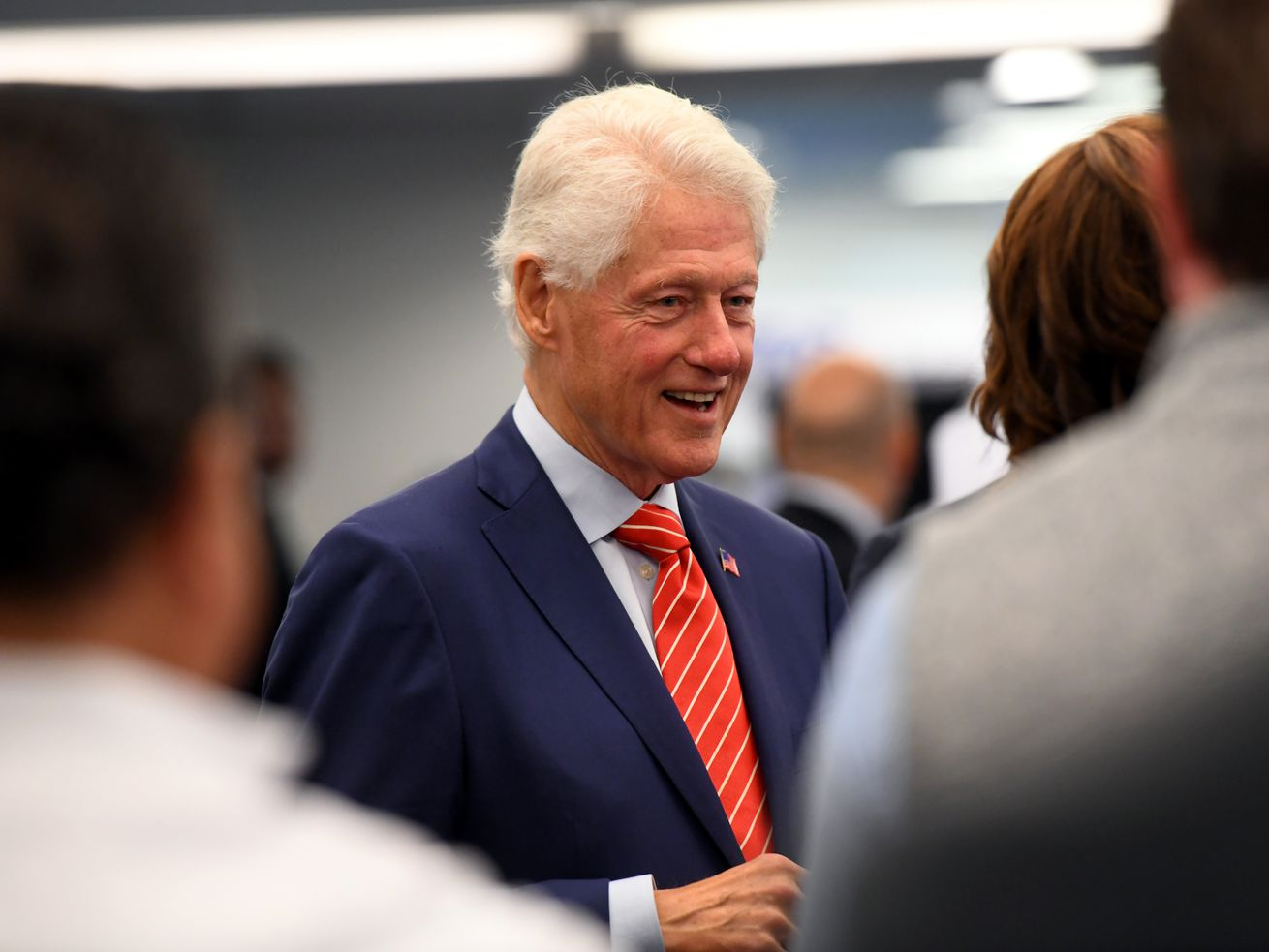 Bill Clinton last month in New York.