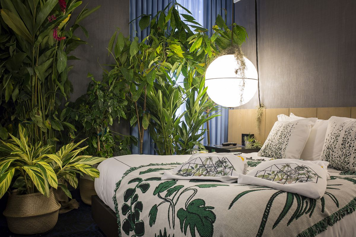 Book a Chicago hotel room filled with Garfield Park ... House Filled With Plants on bathroom filled with plants, bedroom filled with plants, house full of plants, house books,