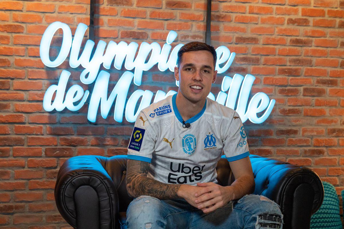Olympique de Marseille Unveil New Signing Pol Lirola