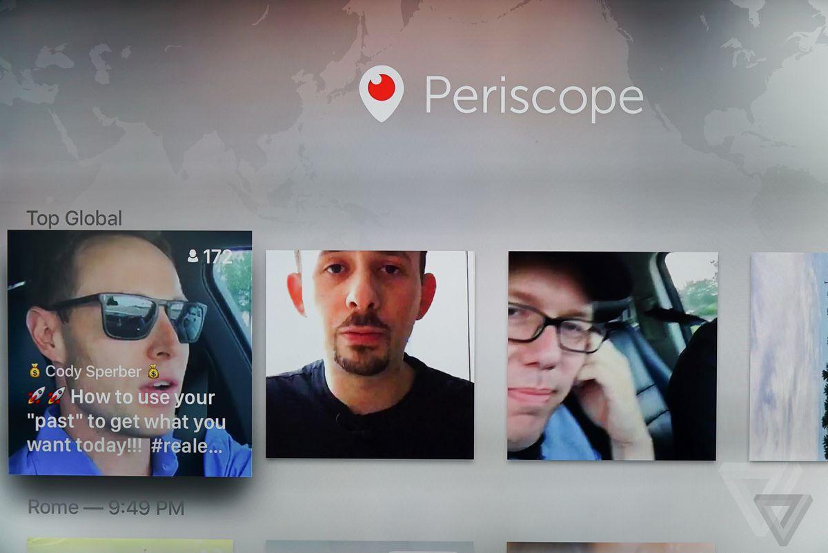 Apple TV Periscope