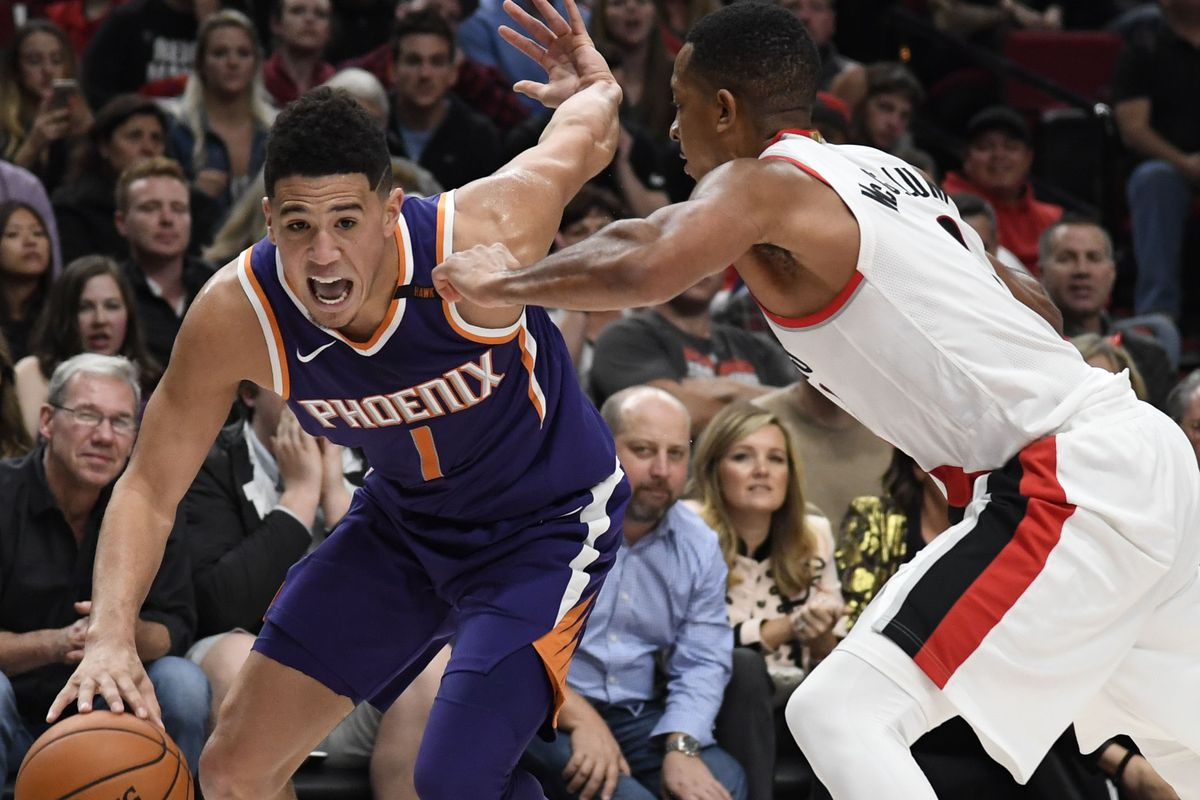 401bbe3bfefa Kyle Terada-USA TODAY Sports. Young Phoenix Suns guard Devin Booker posted  his 21st ...