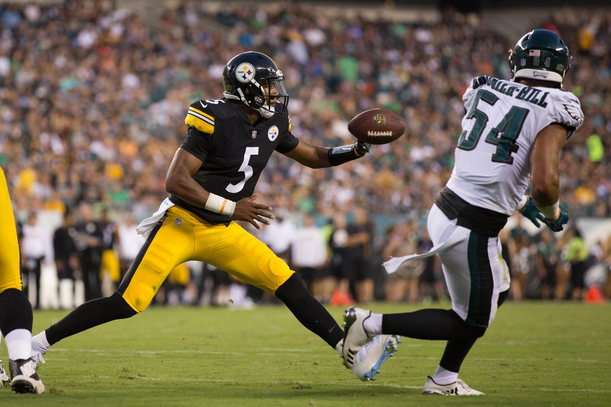 8d928f1cde4 The preseason is turning into a can t-win situation for Steelers  QB Joshua  Dobbs
