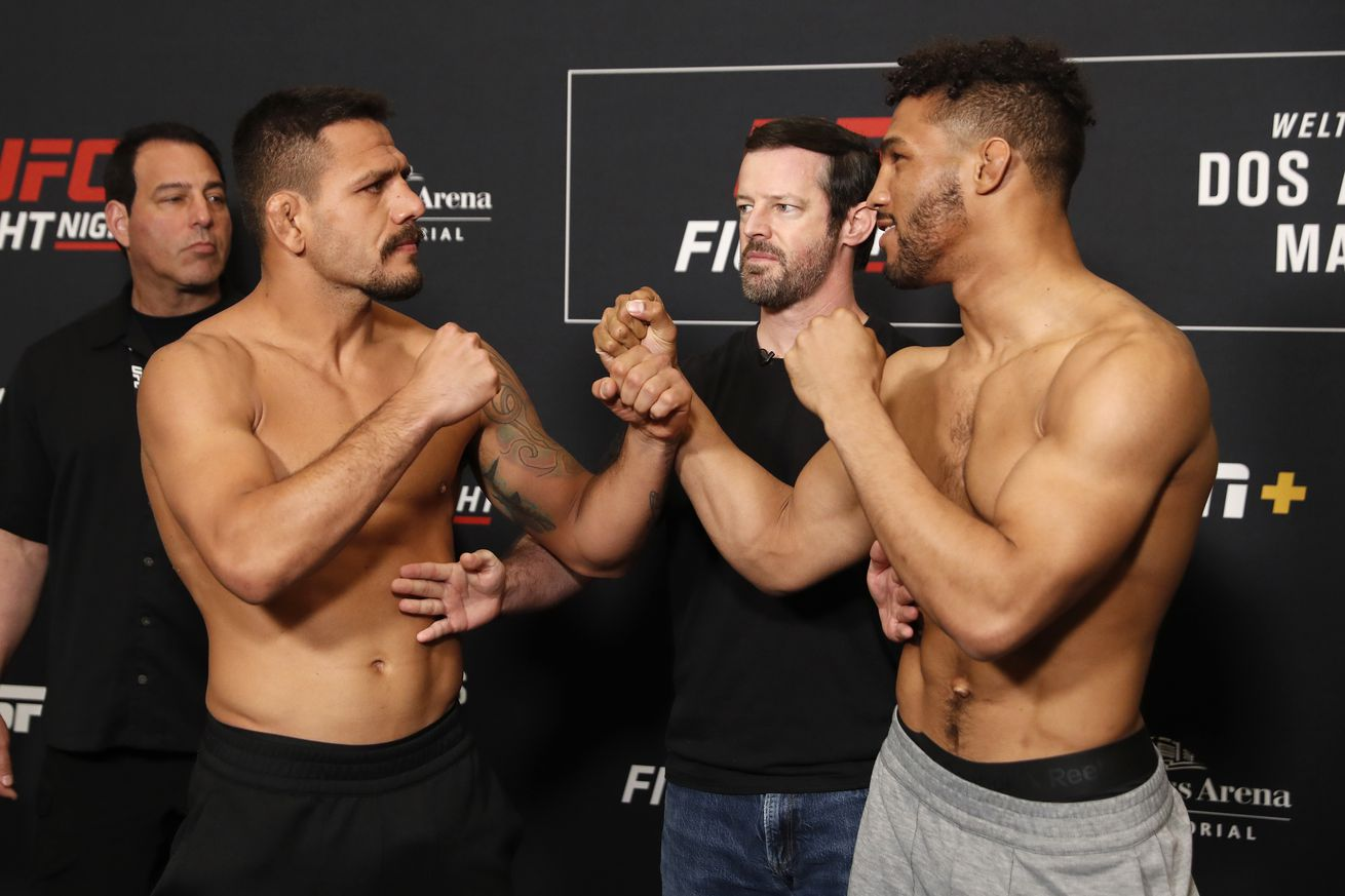 Rafael dos Anjos and Kevin Lee will square off in the UFC Rochester main event.