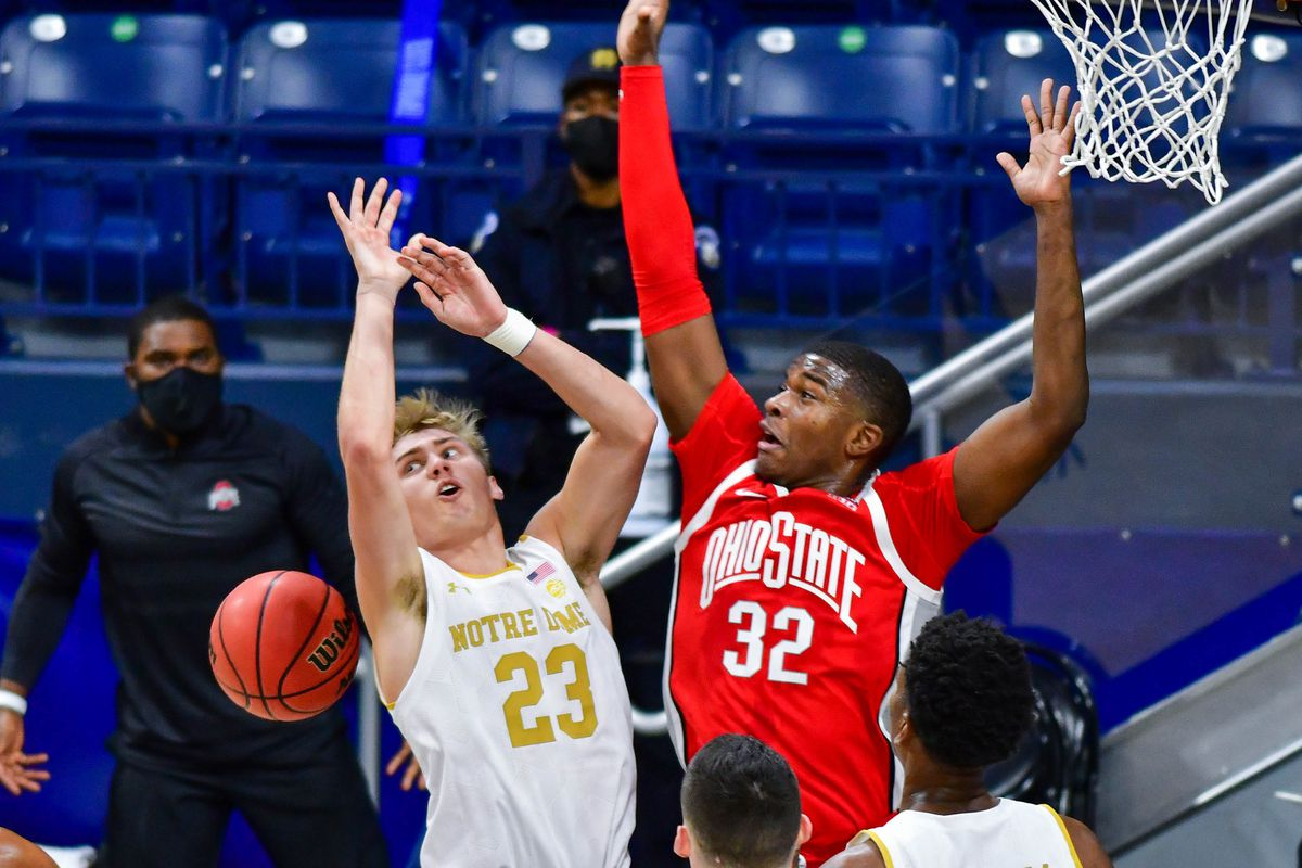 NCAA Basketball: Ohio State at Notre Dame