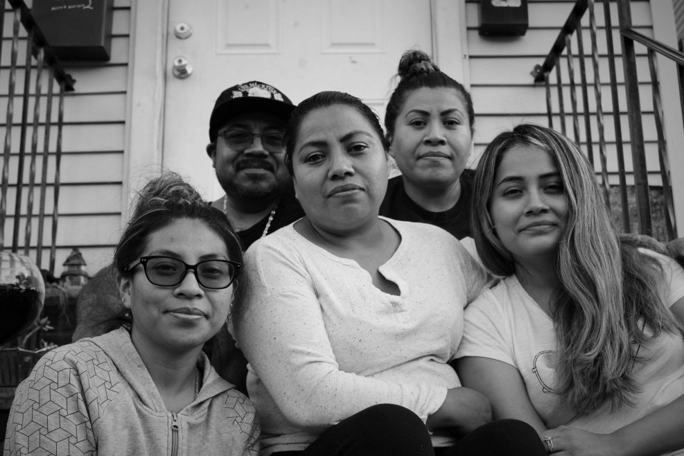 The Gonzalez family shared their experiences during COVID with Arlette Cepeda for her photography project.