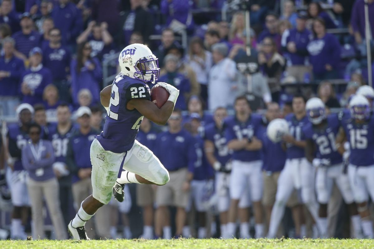 Aaron Green powered the Frogs to one of only two bowl wins for Big 12 teams