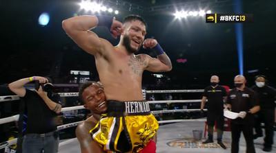 Untitled - BKFC 13: Beltran retains heavyweight title, Hernandez wins debut