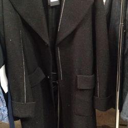 Raf Simons coat, $558