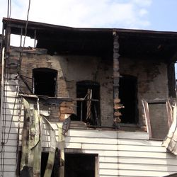 A fire in the 1300 block of North Maplewood June 29, 2019, left 18 people displaced.