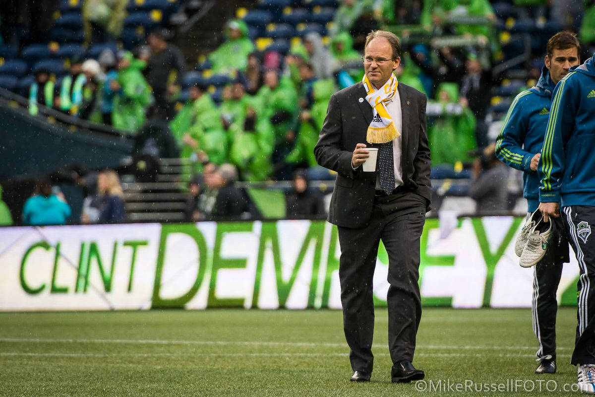 Brian Schmetzer has filled Sigi Schmid's role while the head coach is out.