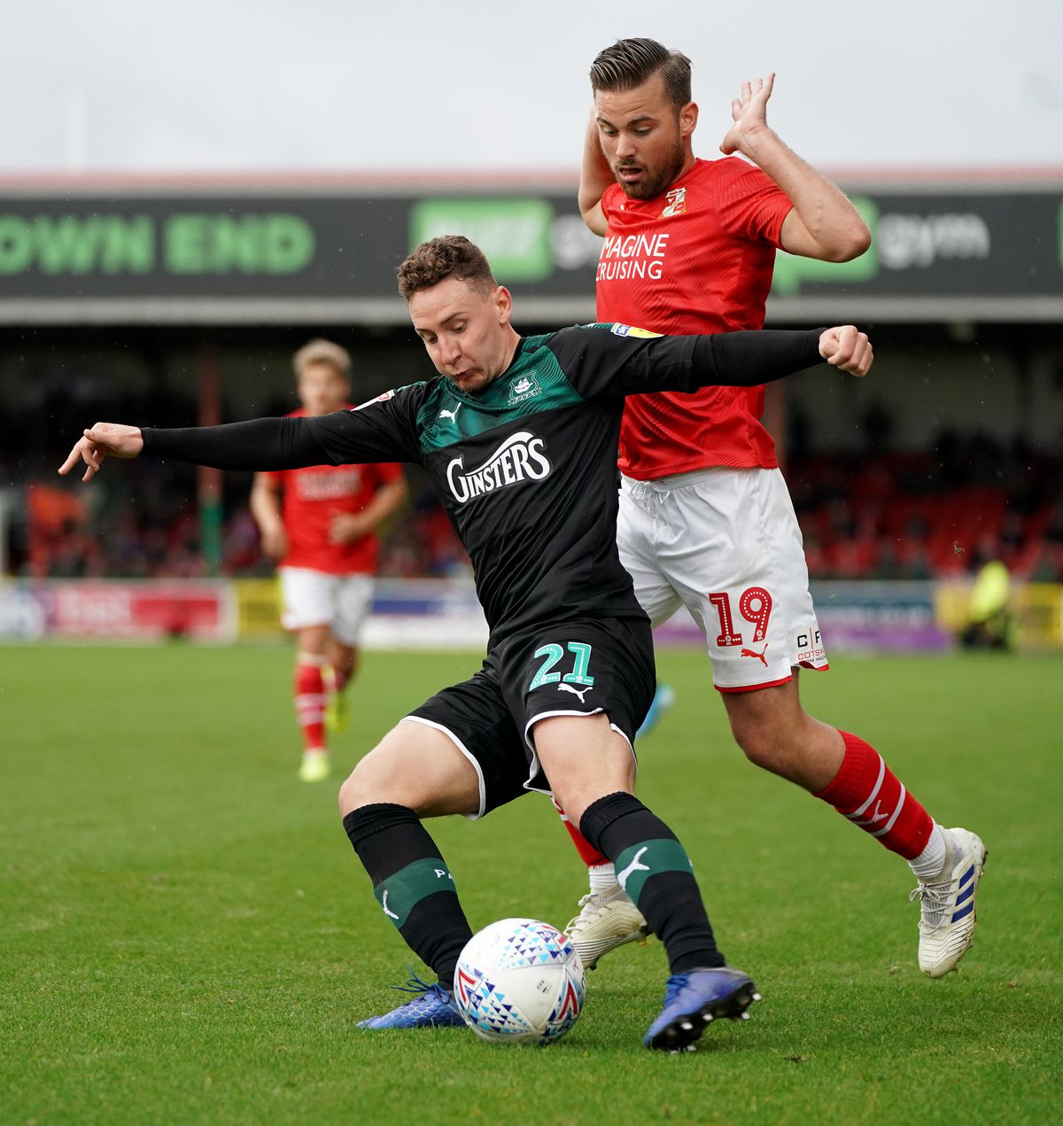 Swindon Town v Plymouth Argyle - Sky Bet League Two - The Energy Check County Ground