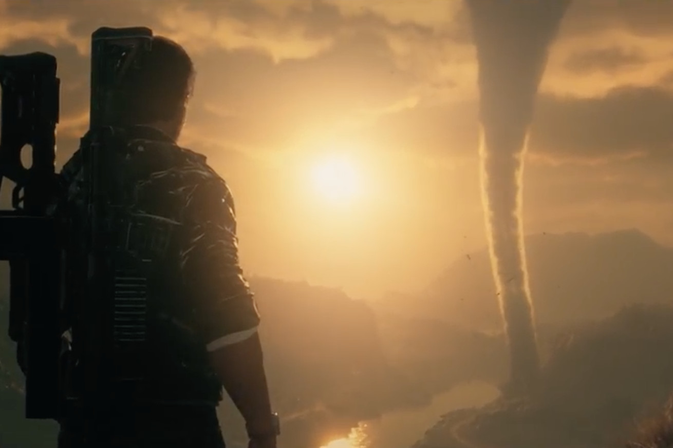 square enix reveals just cause 4 with a new tornado filled trailer