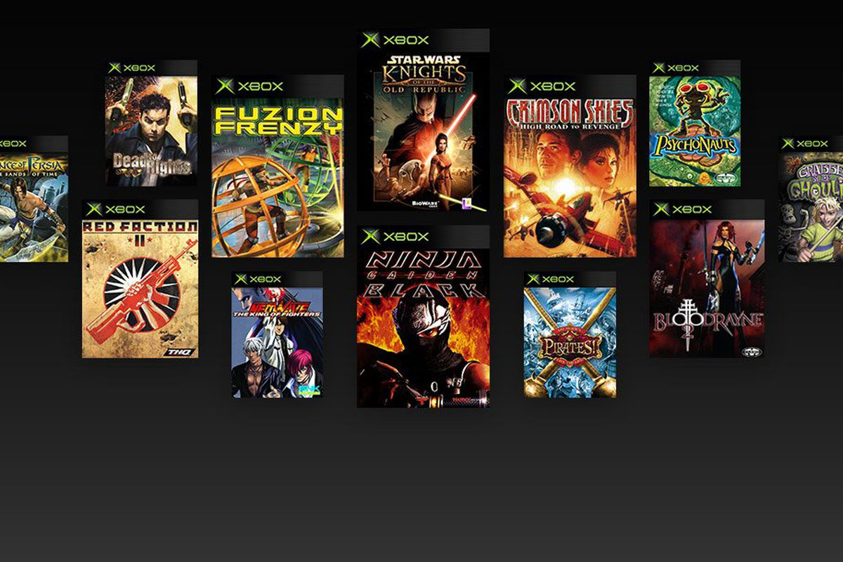 Original Xbox Backward Compatibility Games Allegedly Leaked