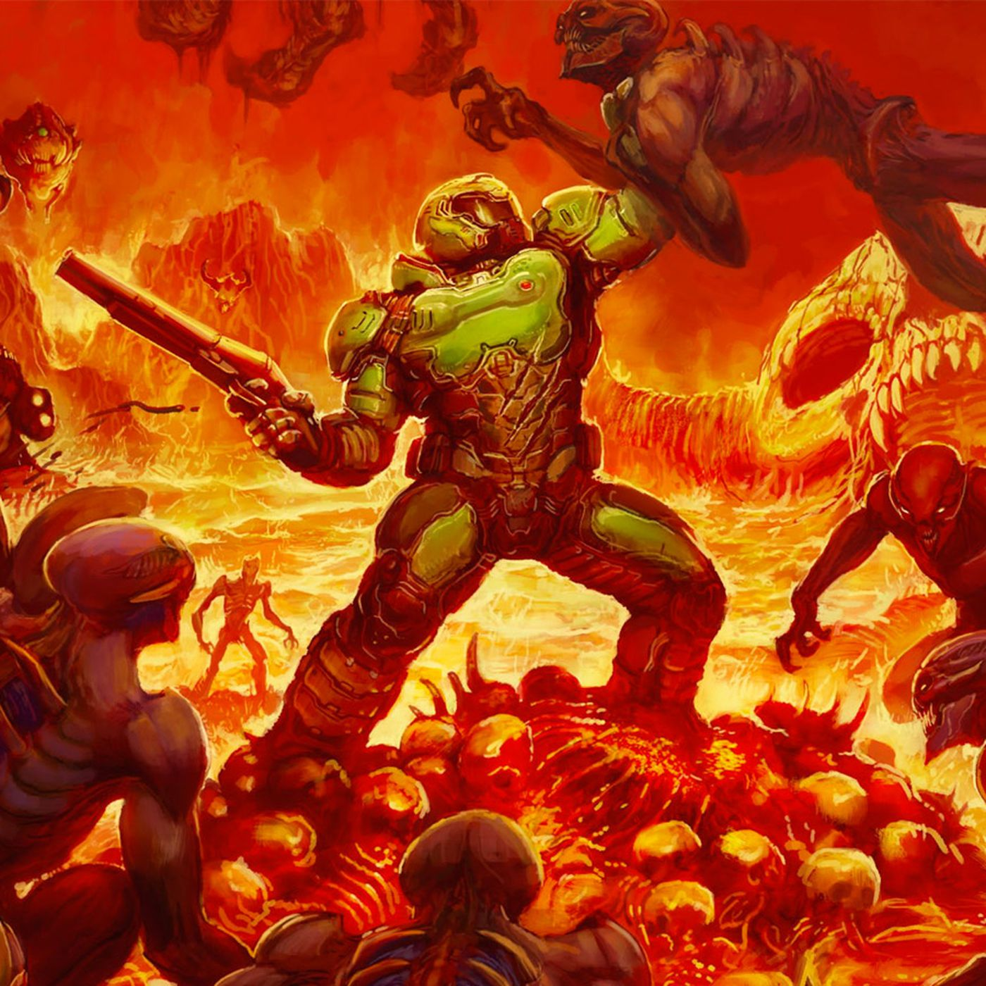 Report: id taking control of Doom multiplayer back from contractor - Polygon