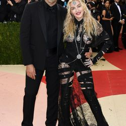 Riccardo Tisci and Madonna, wearing Givenchy.