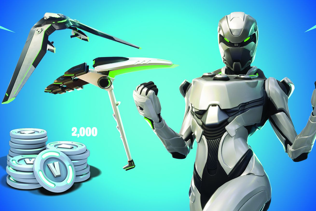 exclusive fortnite skin for new xbox bundle makes makes you look like an xbox