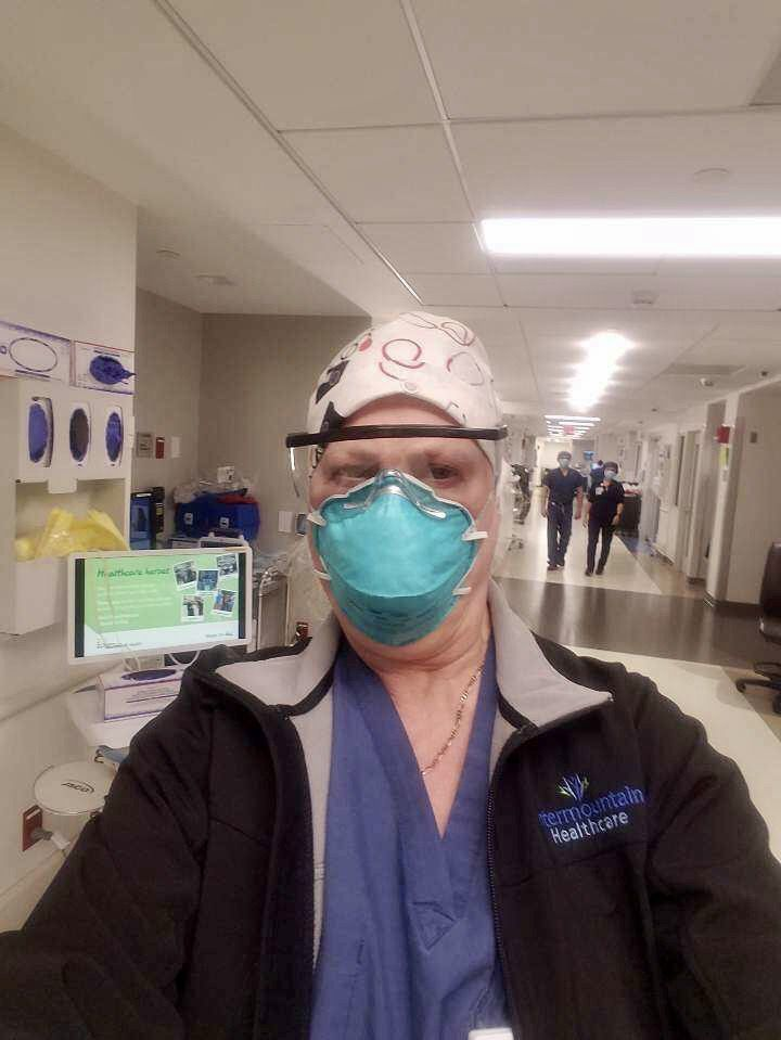 Dr. Dixie Harris, an Intermountain Healthcare pulmonary and critical care physician, spent two weeks caring for COVID-19 patients at Southside Hospital in New York.