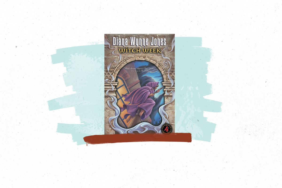 The cover of the Diana Wynne Jones book Witch Week.