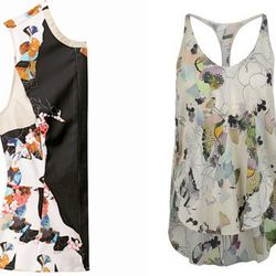 """Abstract florals. Right: Floral top, <a href=""""http://www.thecorner.com/us/women/top_cod37455978kw.html?utm_campaign=affiliazione_us&utm_content=10&utm_medium=affiliazione&utm_source=linkshare_us&tp=40548"""">$388</a> at The Corner"""