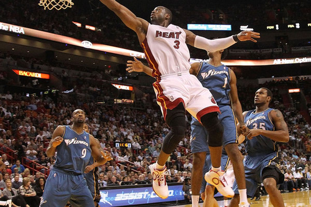 Hopefully tonight was a preview of things to come from D-Wade.