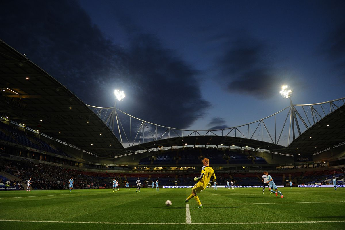 The Reebok Stadium awaits Leeds United this weekend.