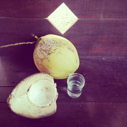 """I am """"coco"""" for coconut water. It is super hydrating, loaded with electrolytes (making it great for hangovers), and a life saver, as it is isotonic to human blood. It makes a moisturizing hair rinse as well."""