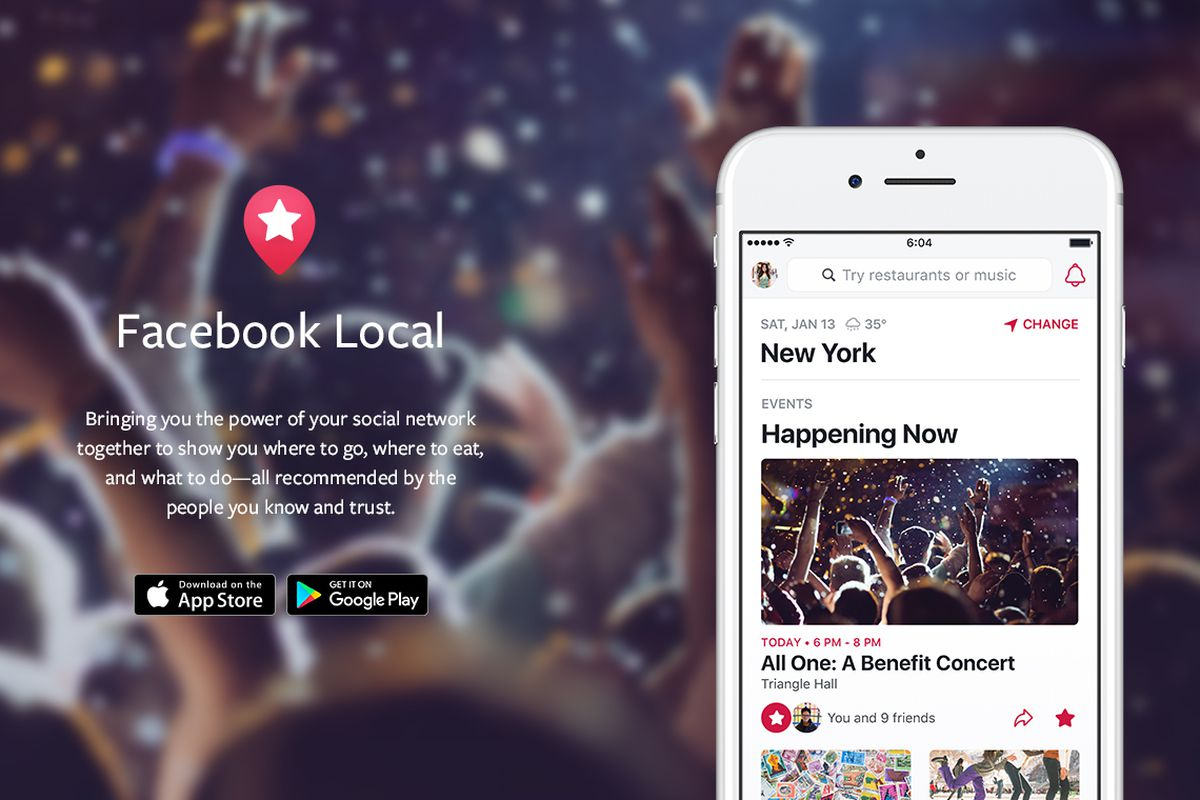 Facebook rebrands Events app as Facebook Local, adds bars, restaurants, more