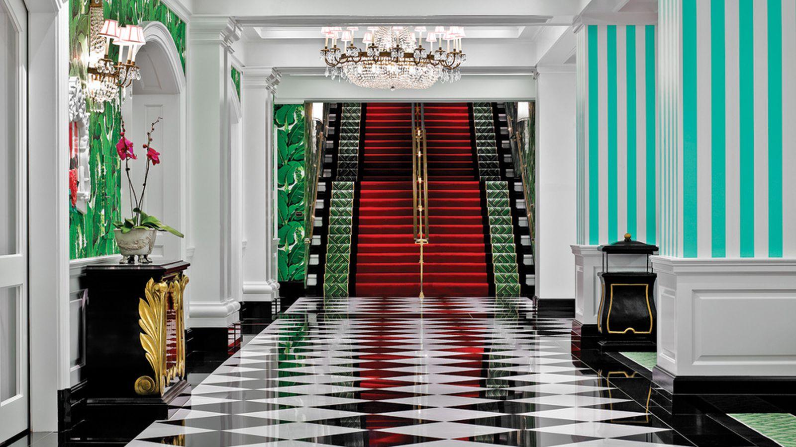 Inside 1930s Designer Dorothy Draper S Riotously Colorful