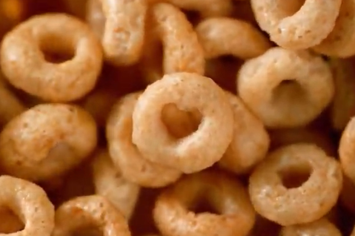 "For a limited time only, the iconic Cheerios ""O""-shaped cereal will now include heart shapes to emphasize heart-healthy eating."