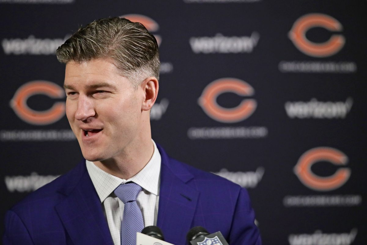 Bears general manager Ryan Pace, who brought you Mitch Trubisky, is in charge of finding a new quarterback for the team.
