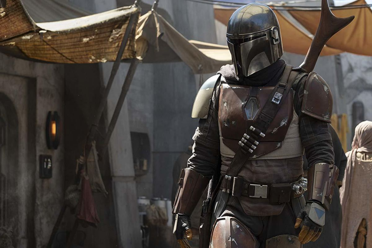 """StarWars.com unveiled a photo from the set of the new show, which will be called """"The Mandalorian."""""""