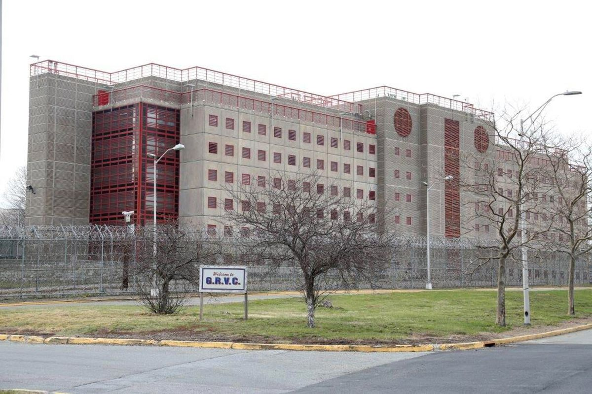 The George R. Vierno Center on Rikers Island.