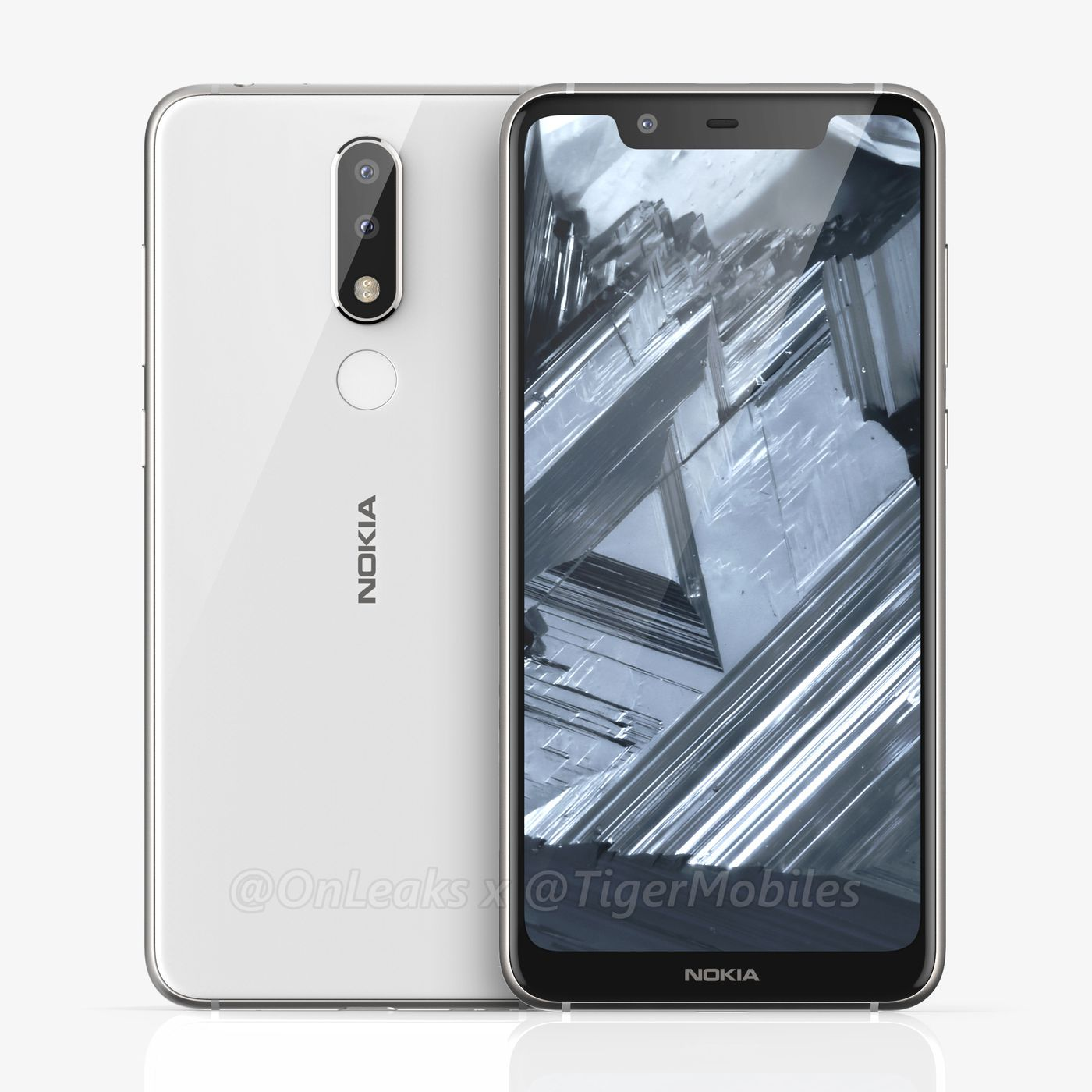 theverge.com - Shannon Liao - Leaked images reveal a notched Nokia 5.1 Plus with dual cameras
