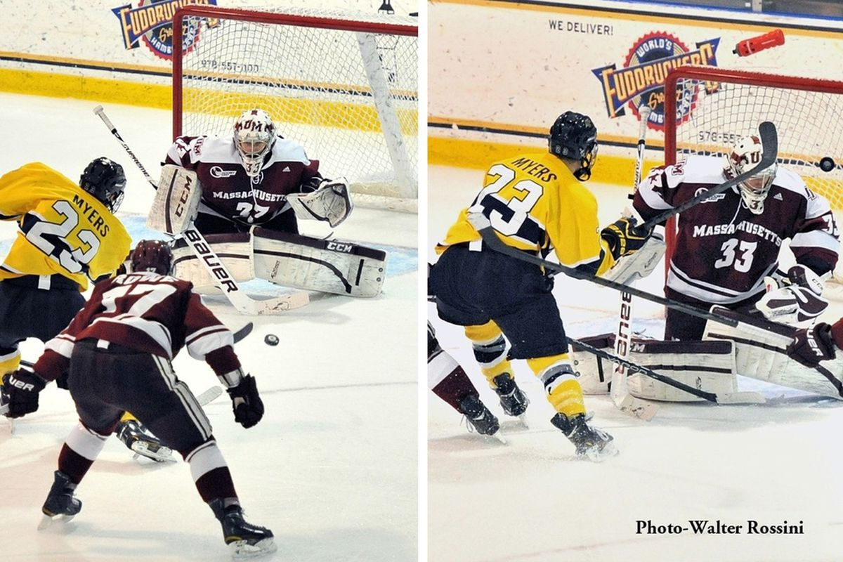 Conor Allen was a bright spot for a UMass team that missed the Hockey East playoffs.