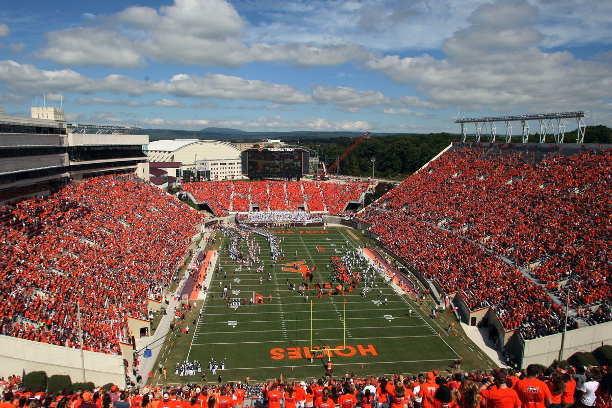 Virginia Tech Field Ready For Panthers Hokies Matchup With
