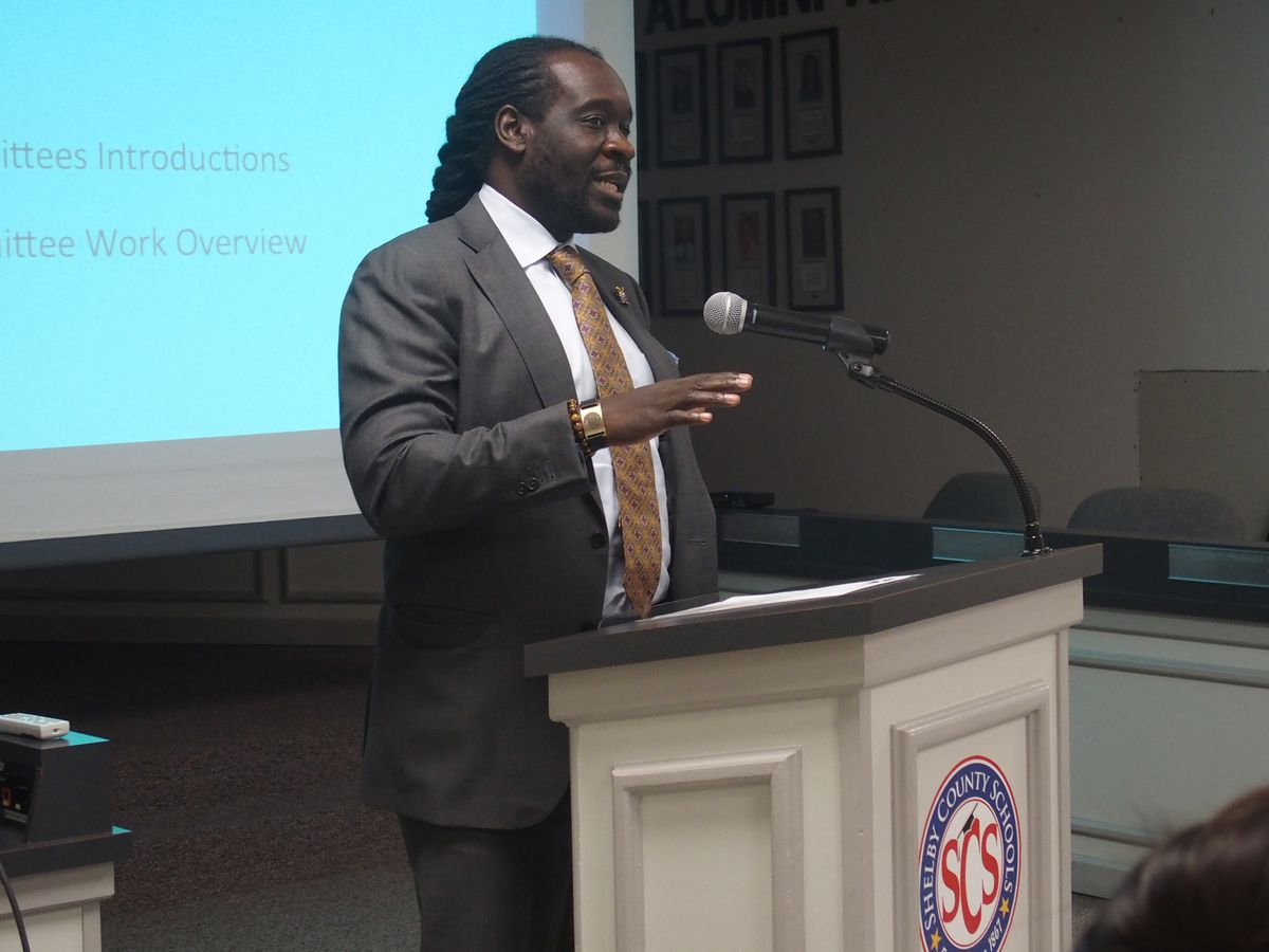 Luther Mercer, the Memphis advocacy director for the Tennessee Charter School Center, co-chairs Shelby County Schools' charter advisory committee.