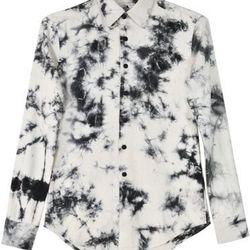 "Upstate oxford shirt, <a href=""http://www.internationalplayground.com/women/tops/blouses/upstate-oxford-shirt-midnight-arashi.html"">$99</a> at International Playground"