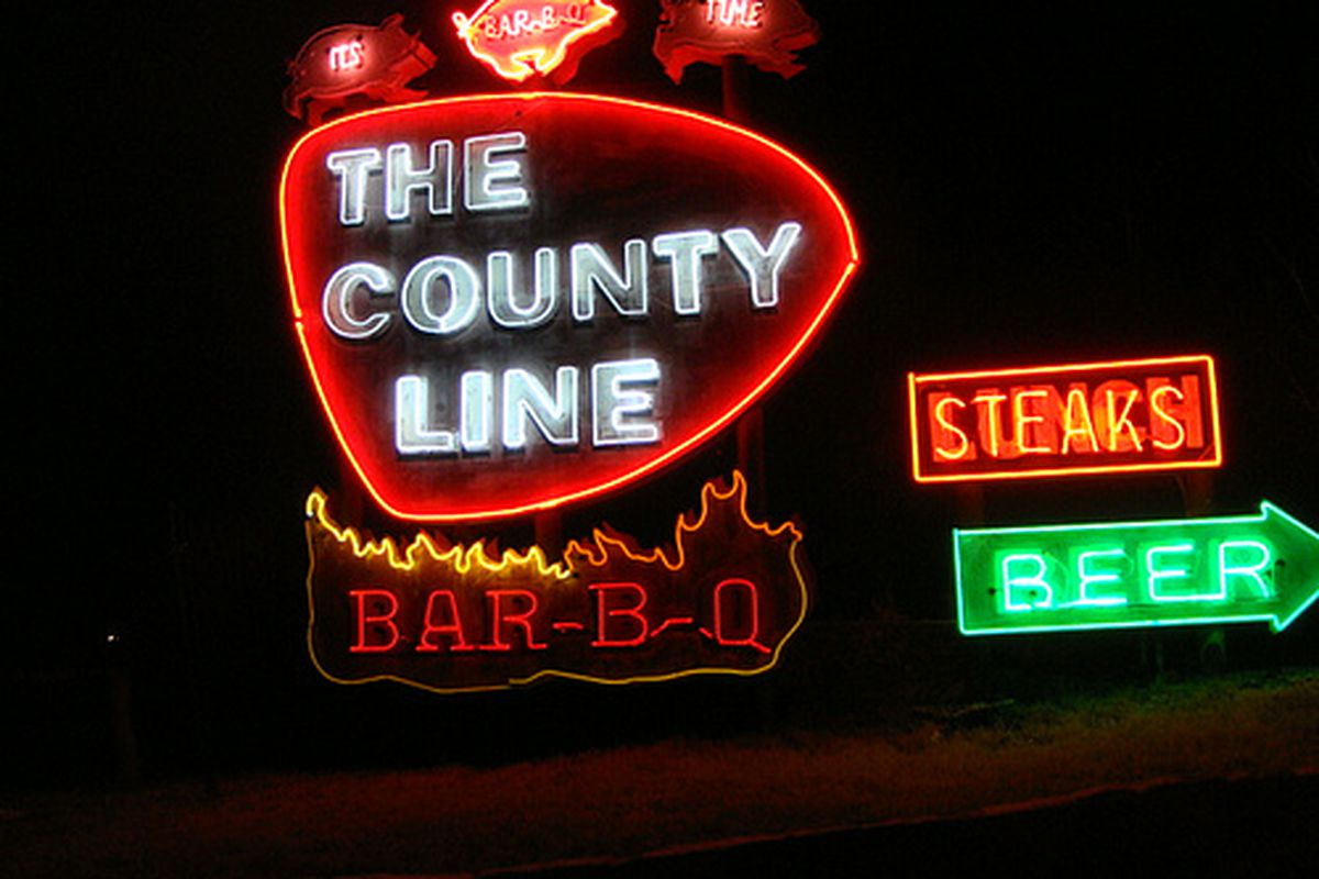 The County Line.