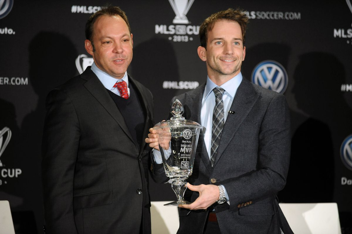League, umm, like, VP or something Someone Someone-or-other basks in the effulgent glory of Mike F**king Magee, Most Valuable Player in a league most assuredly full of other Players, thank you very f**king much.