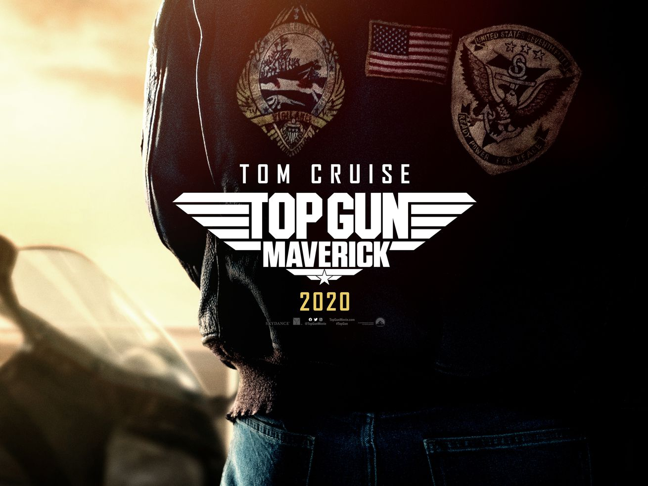 The poster for the movie Top Gun: Maverick.