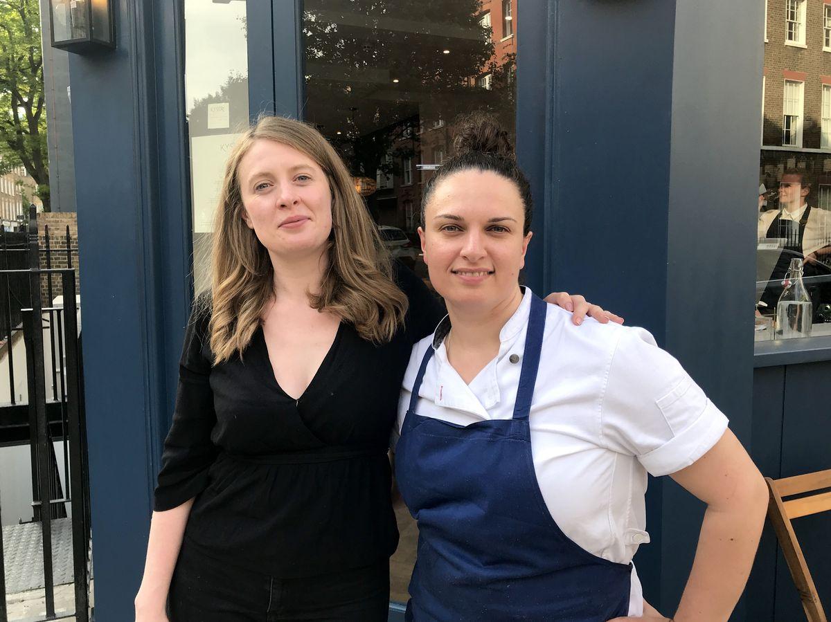 Laura Christie and Selin Kiazim