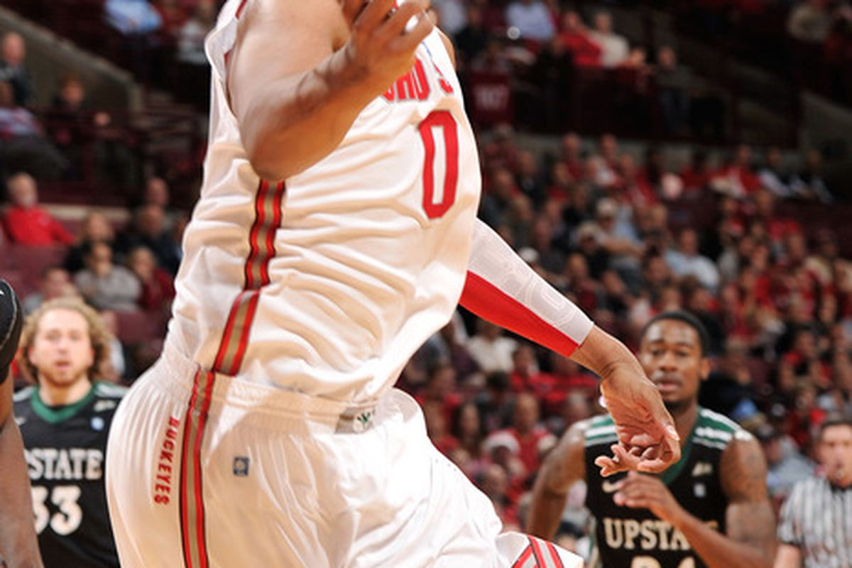 <em>Ohio State's Jared Sullinger:  Sorta like the guy from your church league.  Except not.</em>