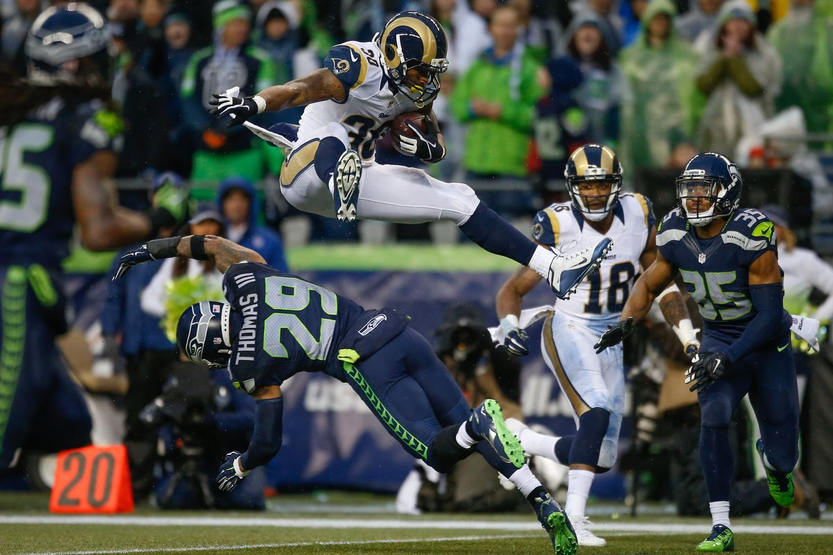 2016 Los Angeles Rams Rb Todd Gurley Season Stat Prediction Turf Show Times