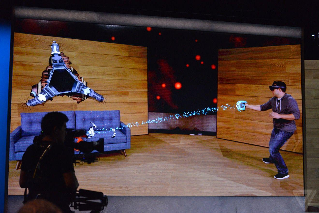 Microsoft HoloLens Project XRay demo