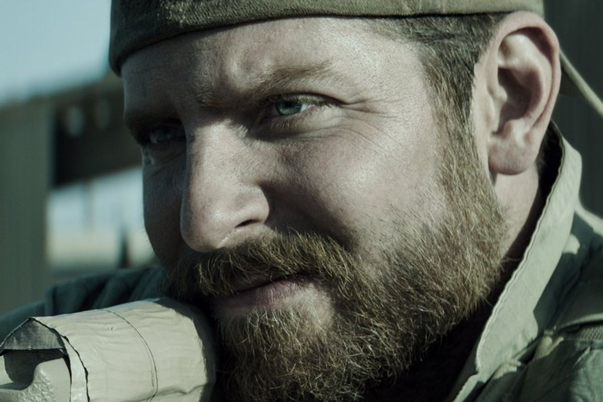 Bradley Cooper stars in American Sniper, which is a surprise box office sensation.
