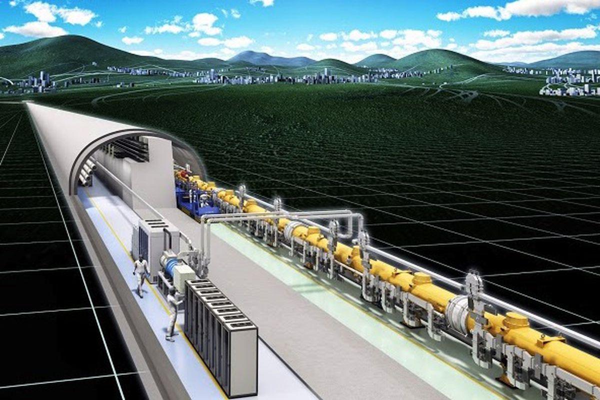 International Linear Collider illustration (Credit: International Linear Collider)