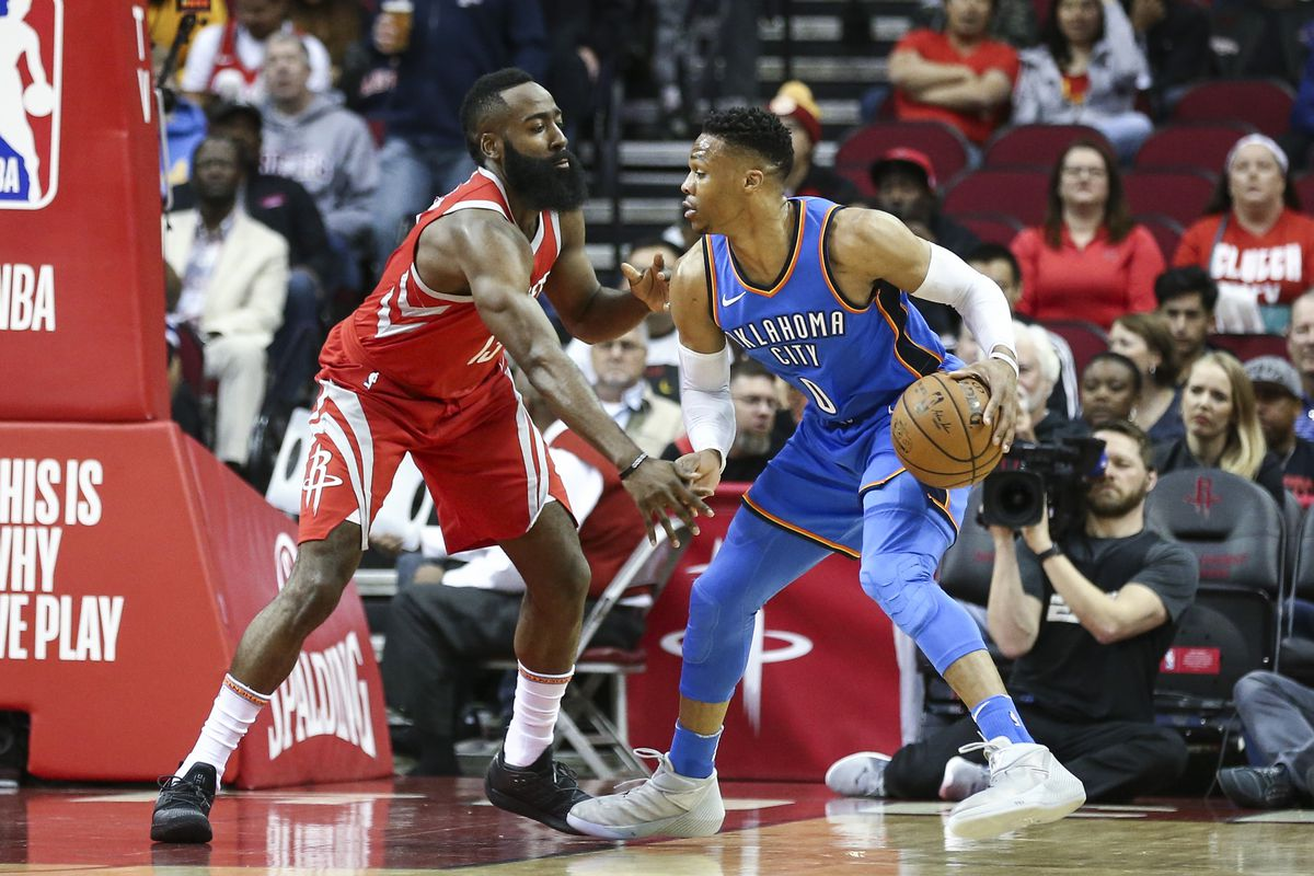Rockets still deciding on load management for James Harden, Russell Westbrook